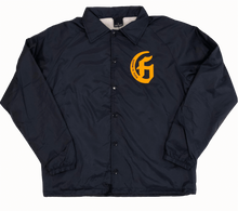 Load image into Gallery viewer, Hasta La Muerte Coach's Jacket (Navy)