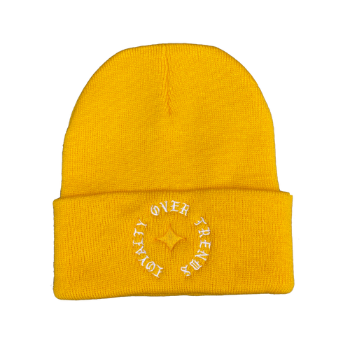 Loyalty Over Trends Beanie