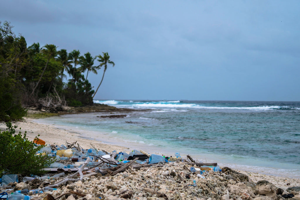 MALDIVES TRASH PANTAI EUROPE