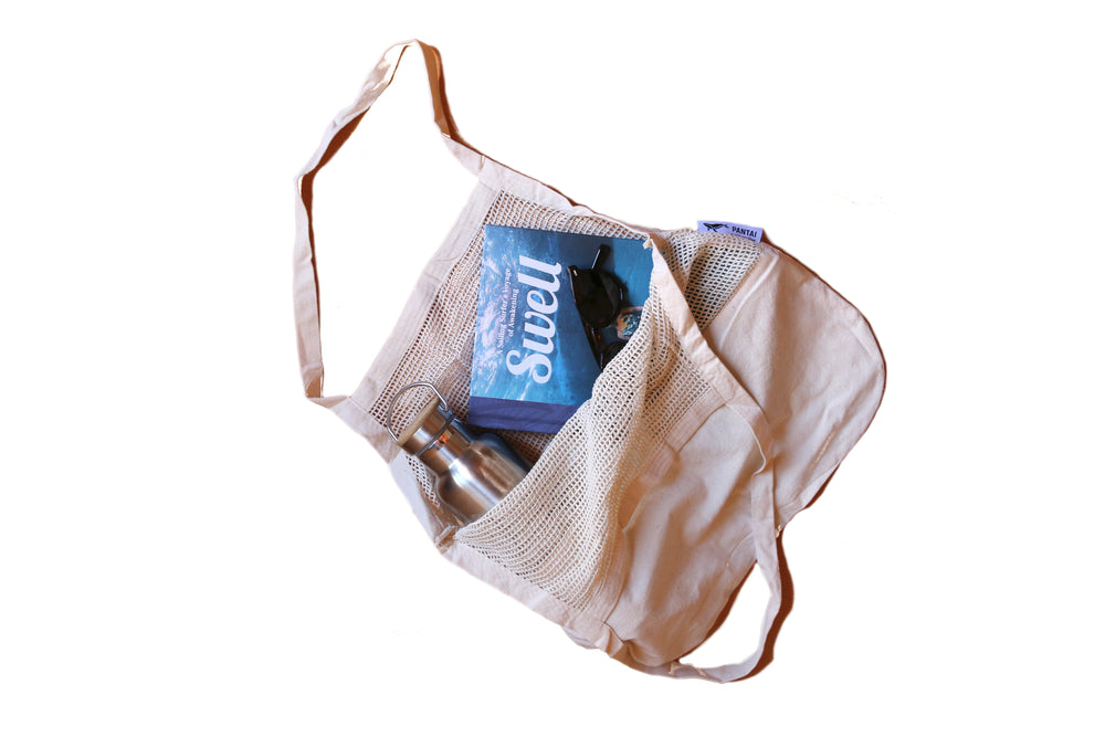 PANTAI STRING MESH BAG ORGANIC COTTON