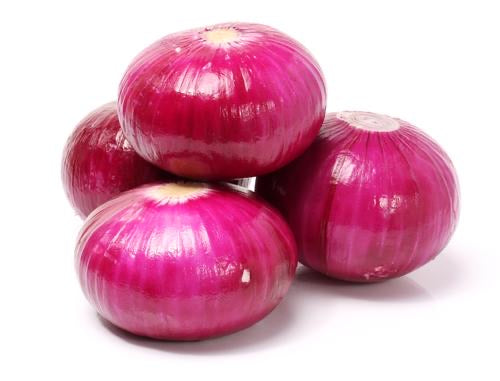 Processed Onion Red Peeled - 5 kg Vacuum Pack