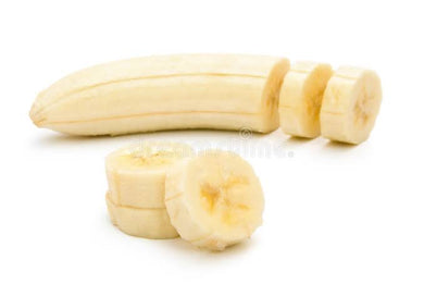 Frozen Banana Peeled whole - 5 kg Vacuum Pack