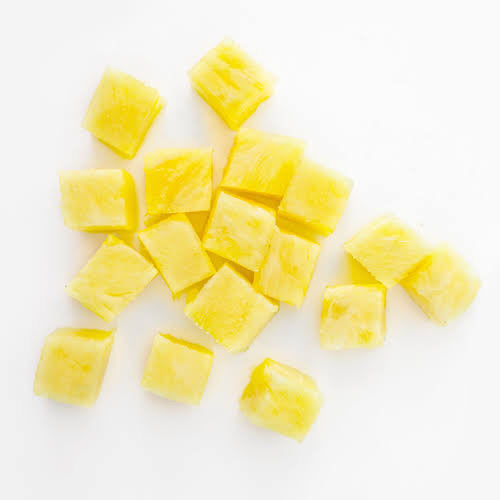 Frozen Pineapple chunks - 5 kg Vacuum Pack