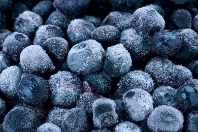 Frozen blueberries - 5 kg vacuum pack