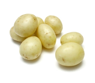 Potatoes Washed White Chats - per kg