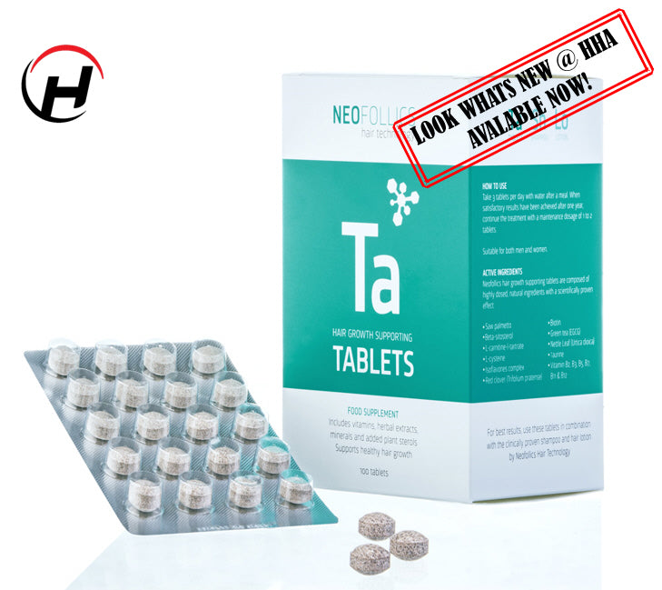 NEW Neofollics Hair Supporting Tablets (100 Tablets) - Stocktake Sale Special until 30th March - Limited Time Only