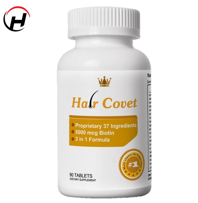 Lipogaine Hair Covet 3 in 1 Formula Hair Supplement (90 Tablets - 1 month supply)