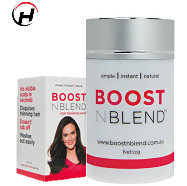 BoostNBlend Hair Thickening Fibres 22grams - 8 Great Colours to choose from!