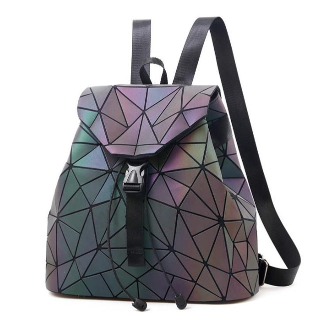Hologram Geometric Backpack