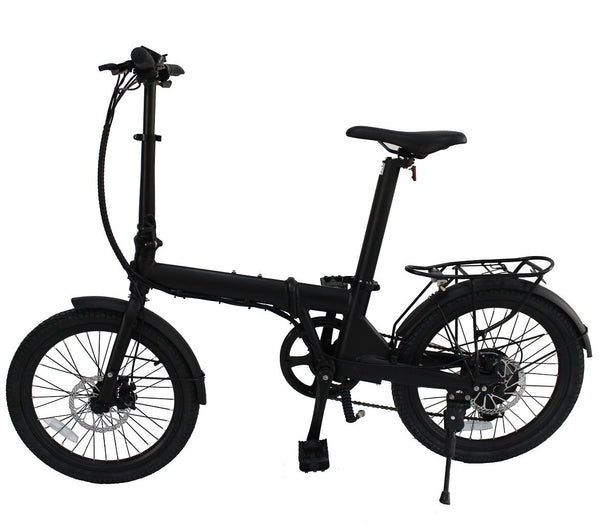 "36V 250W Folding 20"" eBike with Seatpost Built-in Battery, Light Weight"