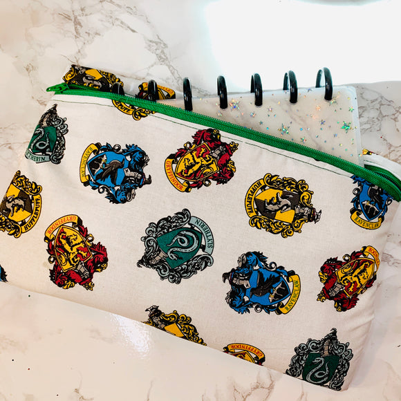 Oversized Hogwarts Houses Pen Pouch