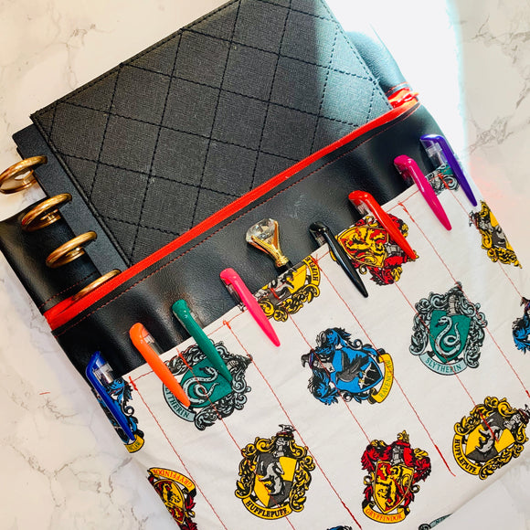 Hogwarts Houses Planner Pouch