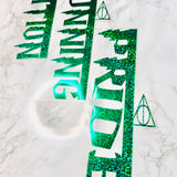 Slytherin House Traits Clear Tabs