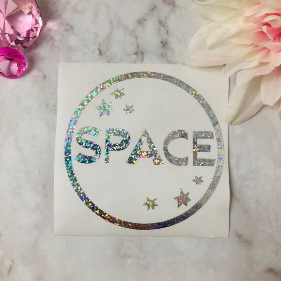 """Space"" Holo Decal"