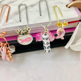 """PINK"" Bead Clip"