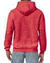 Gildan:18500-Heather Sport Scarlet Red