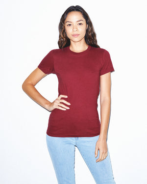 American Apparel:2102W-Cranberry