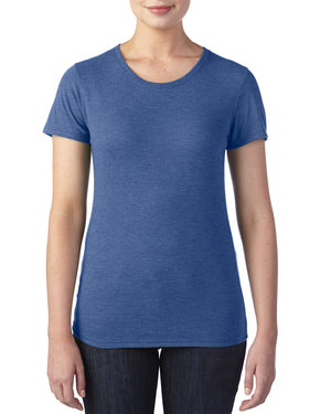 Anvil:6750L-Heather Blue