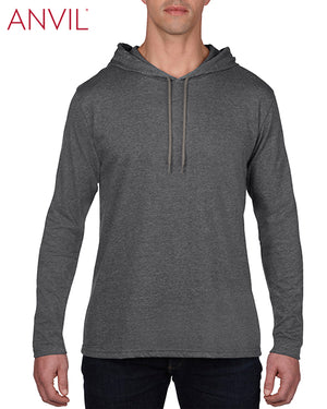 Anvil:987-Heather Dark Grey - Dark Grey