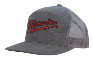 Premium American Twill A Frame Cap with Mesh Back