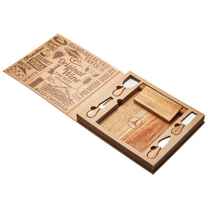St Andrews Magnetic Cheeseboard & Knife Set