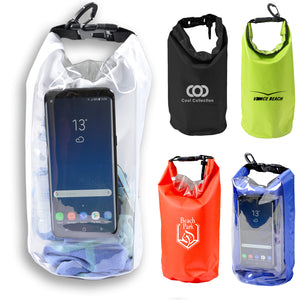 25L Dry Bag With Phone Window