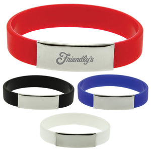 The Glarus Silicone Wrist Band