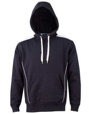 Adults Kangaroo Pocket Contrast Hoodie