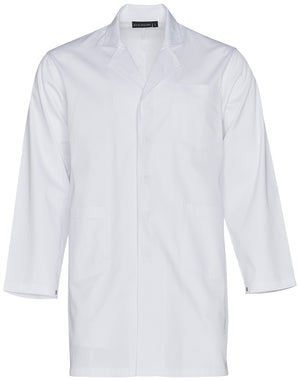 Unisex Long Sleeve Lab Coat