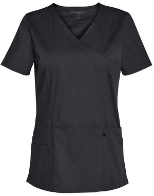 Ladies Solid Colour S/S Scrub Top