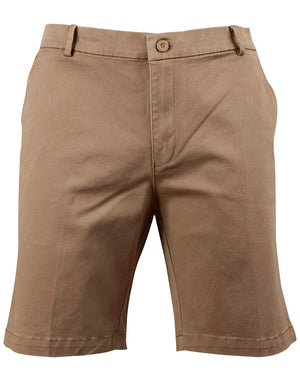 Mens Stretch Cotton Chino Shorts
