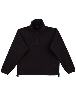 Kids half zip polar fleecy pullover