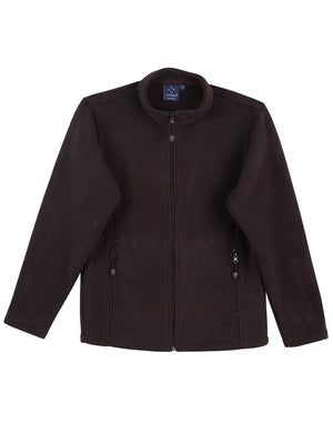 Mens bonded P/F full zip jacket