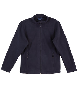 kids bonded P/F full zip jacket