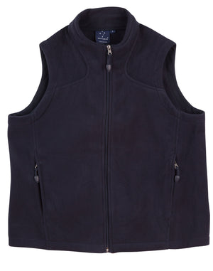 Kids bonded polar fleece vest