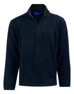 Adults Half Zip Polar Fleece Pullover