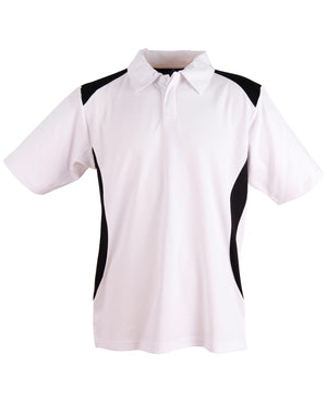 Chidrens Truedry contrast polo