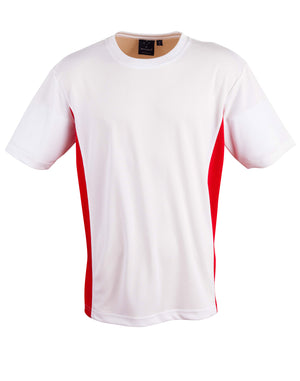 CoolDry short sleeve contrast tee