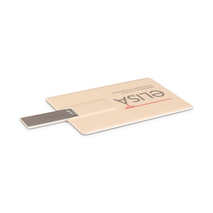Small plastic card USB