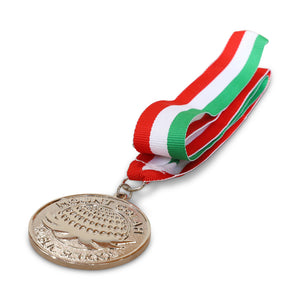 Custom Shaped Medal Metal Only