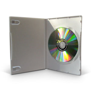 DVD Case SINGLE STANDARD 14mm White