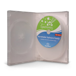 DVD Case 6 DISC 28mm Clear