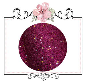 COMING SOON Starry Night Collection Fine Glitter ~ Cerise Pink ~ Silver & Gold Star Encrusted Christmas Craft Sheets