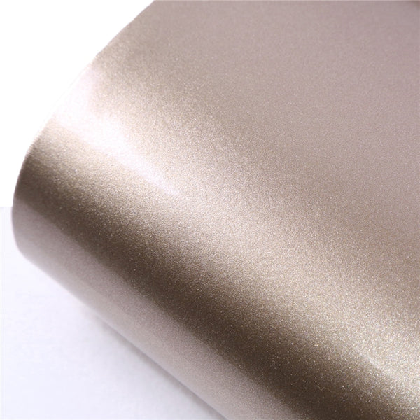 Soft PU Patent Faux Leather Sheets ~ Gold
