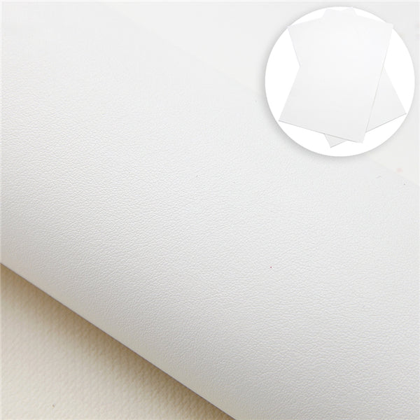Smooth Fine Grain Faux Leather Collection ~ Includes Pearl Colours ~ 0.56mm - 0.78mm