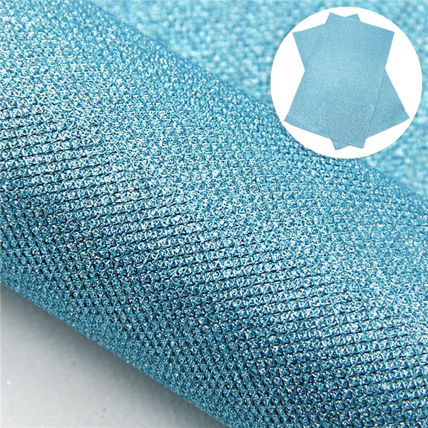 Metallic Textured Faux Leather ~ 0.60mm