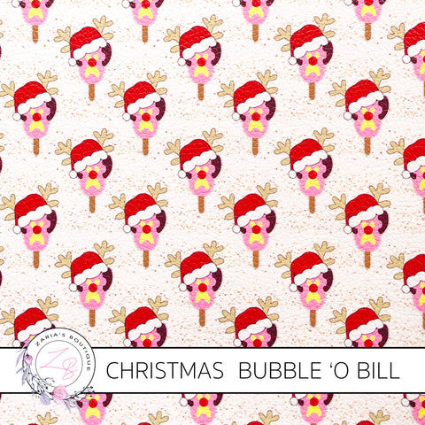 Christmas Bubble 'O Bill ~ Faux Leather ~ Exclusive!