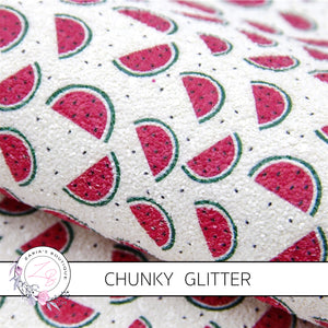 Watermelon Chunky Glitter ~ 1.03mm