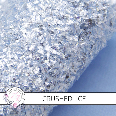 Crushed Ice ~ Baby Blue Chunky Glitter ~ 1.14mm