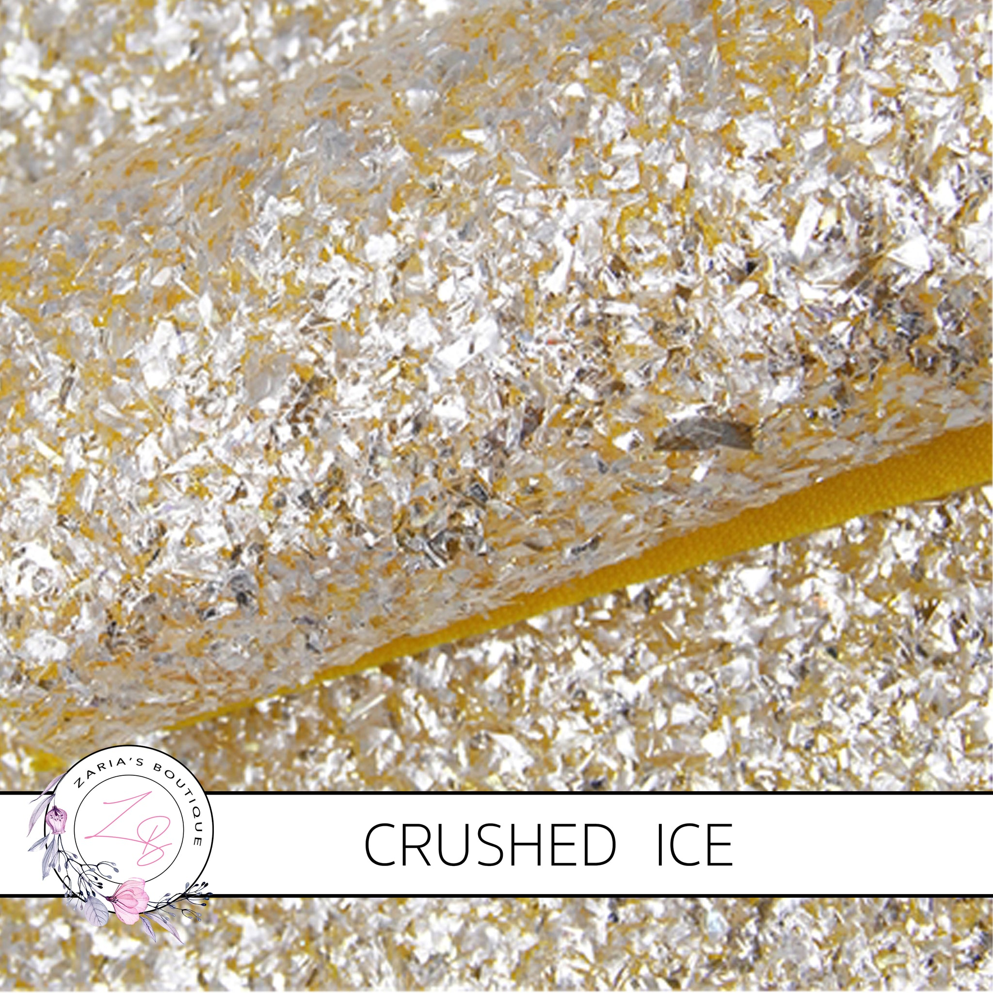 Crushed Ice ~ Yellow  Chunky Glitter ~ 1.14mm
